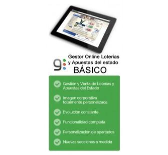 GESTOR ONLINE ADMINISTRACIONES LOTERIAS BÁSICO